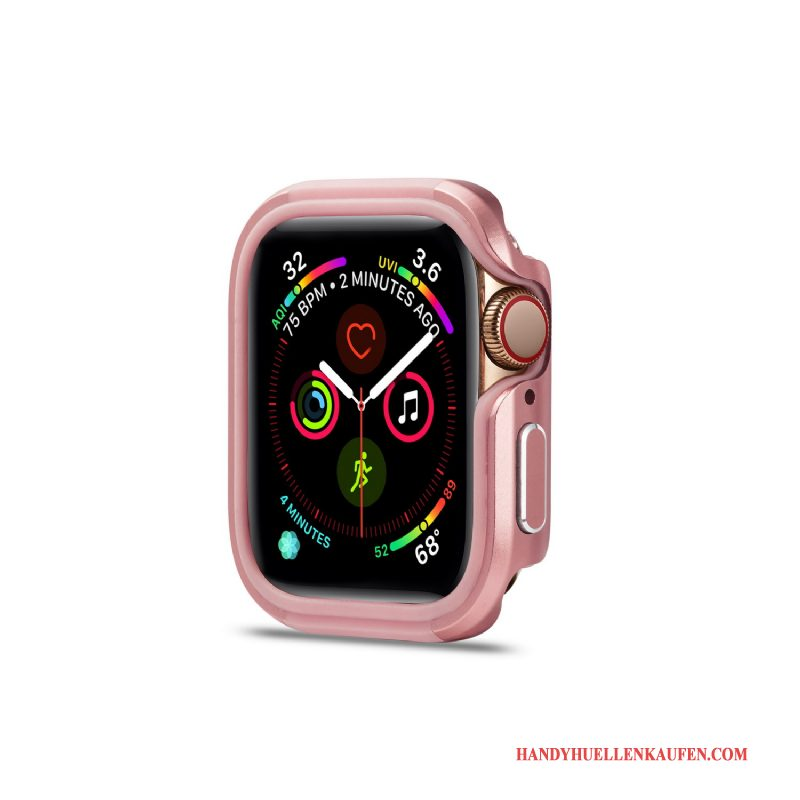 Hülle Für Apple Watch Series 2 Neu Case Anti-sturz Legierung Rosa Metall